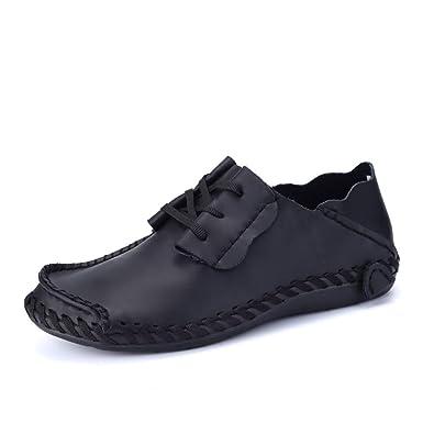 GPF fei Chaussure en cuir pour homme chaussure mocassins