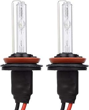 Safego Xenon HID Lampada H8 H9 H11 6000K Scheinwerfer Lampe Birne Licht Weiß