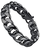 Aoiy Men's Stainless Steel 16mm Curb Chain Biker - Best Reviews Guide