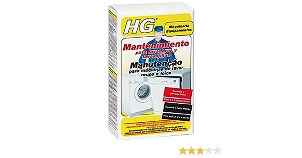 HG Mantenimiento para lavadoras y lavavajillas: Amazon.es: Hogar