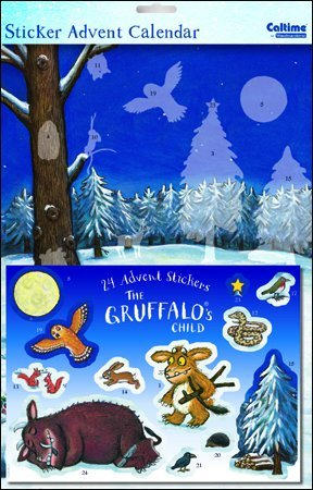 Sticker Advent Calendar (WDM0109) - The Gruffalo's Child - Into the Woods Woodmansterne