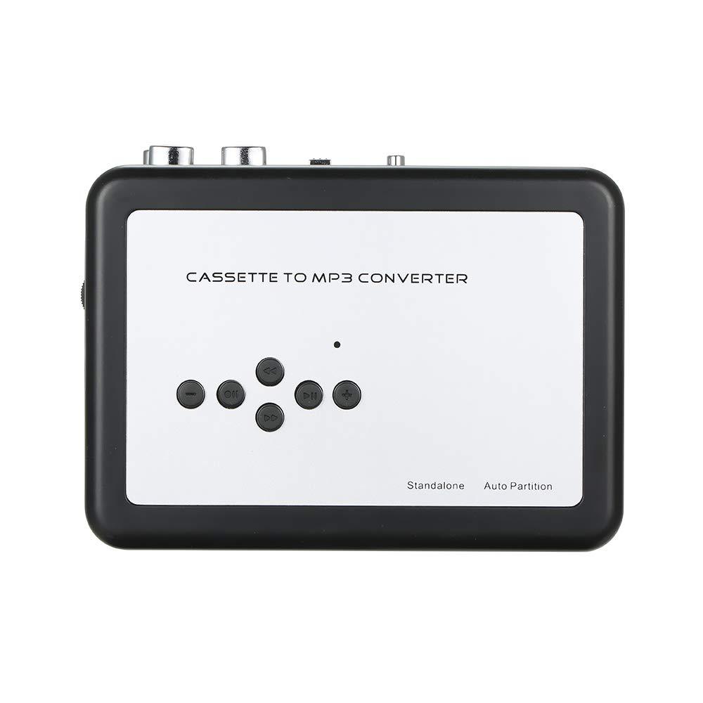 Docooler Cassette to MP3 Converter Cassette USB Lecteur de Musique Enregistreur Audio numérique Conversion de Cassettes en MP3 Sauvegarde sur clé USB câble USB