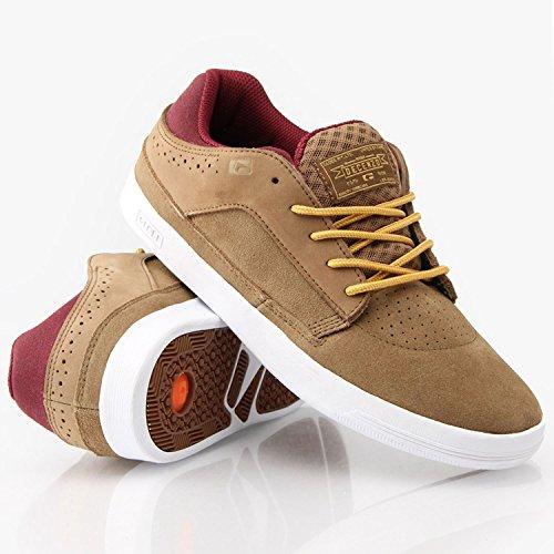 GLOBE Skateboard Shoes RYAN DECENZO DELTA Golden Brown