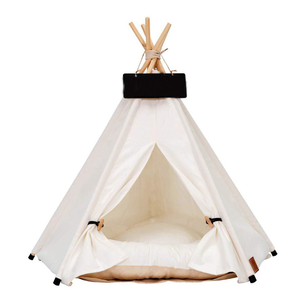 40cm40m50cm DSADDSD Cat Litter Kennel Pet Tent Small Dog Foldable Game House Pet Supplies (Size   40cm40m50cm)