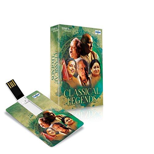 Music Card: Classical legends   320 kbps MP3 Audio  4  GB