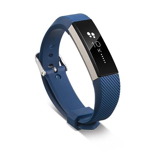 4 opinioni per Pinhen- Cinturino in silicone per Fitbit Alta, protezione unica e totale per