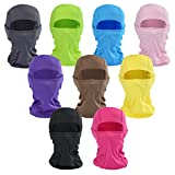 Balaclava Face Mask - Beeway Premium Multi-Purpose Breathable Sports Mask for Outdoor Skiing Cycling Motorcycling Helmet Hiking Camping - Men Women Kids, Colors, All the Year Round