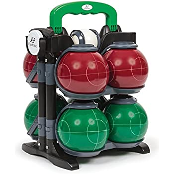 EastPoint Sports 110mm Resin Bocce Set with Carrier