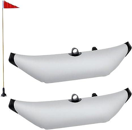 Pack 2 stabilizzatore stabilizzatore gonfiabile e bandiera di sicurezza per