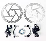 Signswise MTB Mountain Bicycle Bike Mechanical Disc Brake Front and Rear 160mm + G2 Rotors