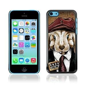 YOYOSHOP [Cute Rabbit In A Suit] Apple iPhone 5C Case