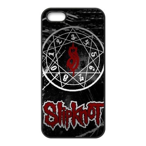 J1P27 Slipknot P4D4DV coque iPhone 5 5s cellulaire cas de téléphone de couverture coque DM1GPH7FS noirs