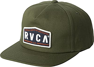RVCA Men's Wrecking Crew Snapback Hat from RVCA
