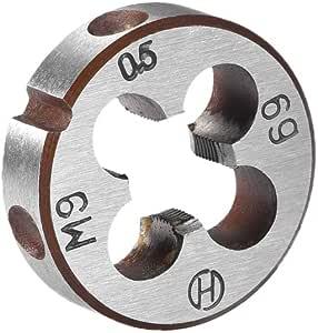 uxcell M16 X 1.25 Metric Round Die Machine Thread Die 38mm OD Round Threading Die Alloy Steel