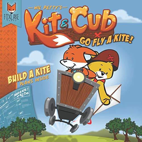 Kite Construction Kit - Kit & Cub: Go fly a kite!