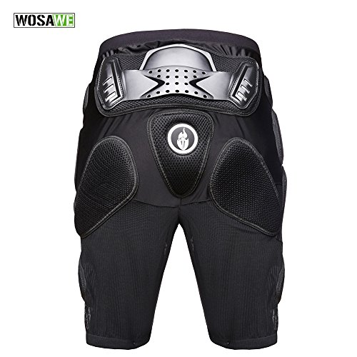 Wolfbike Motorcross Racing Ski Armor Pads Sports Protective Pants, Size ()