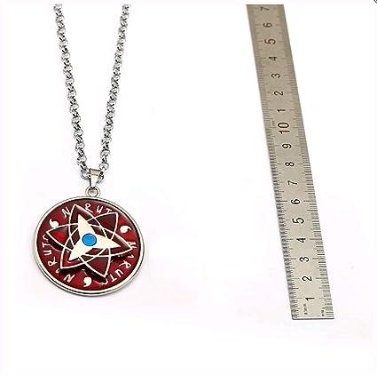 Anime Naruto Llavero Collar Estrella Rotación Colgante De ...