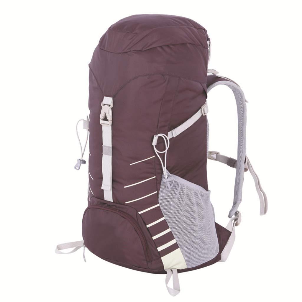 軽量スポーツ旅行用バックパック(黒+青)35Lアウトドア登山バッグ男性と女性 (色 : C)  C B07GZQN3XJ