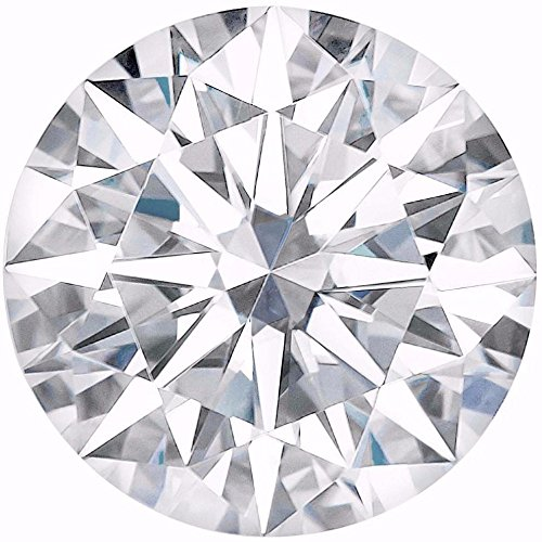 Arya's C ROUND Cut Loose Real Moissanite, Use for Pendant/Ring Genuine Near White Color, 1ct to 3ct, Near white, moissanite, Why pay so high when you get same quality for less (2.5) by Arya's C