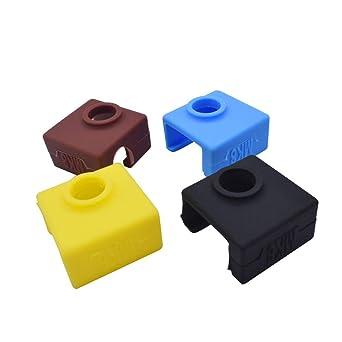 Impresora 3D MK8 Calcetines de Silicona Bloque Calentador Silicona ...