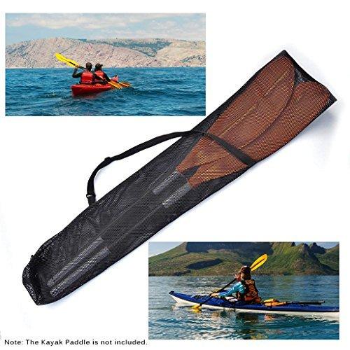 Kayak Paddle Bag - Lixada Drawstring Mesh Kayak Paddle Bag Split Shaft Canoe SUP Paddles Cover Storage Transport Mesh Bag