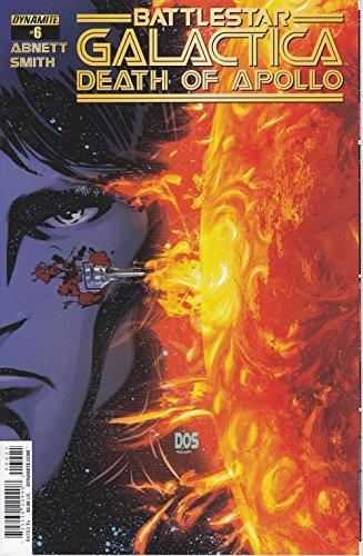 (Battlestar Galactica Death of Apollo No. 6 Cover)
