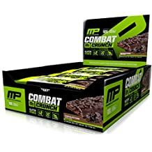 Musclepharm Combat Crunch Bars, 12-Count, , Chocolate Cake