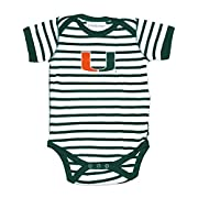 Miami Hurricanes NCAA College Newborn Infant Baby Creeper (0-3 Months)