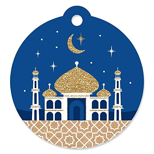 (Ramadan - Eid Mubarak Favor Gift Tags (Set of 20))