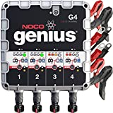 auto parts gmc sonoma - NOCO Genius G4 6V/12V 4.4A 4-Bank UltraSafe Smart Battery Charger