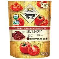 ORGANIC Sundried Tomatoes - Sunny Fruit (5) 1.06oz Portion Packs | Purely Tomatoes...