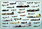 World War II Aircraft Poster 39 x 27in