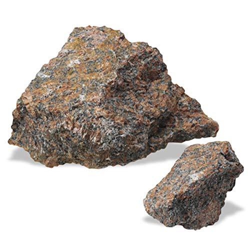 American Educational Red Coarse-Grained Granite Igneous Rock, 1 Kg