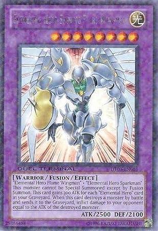 Yu-Gi-Oh! - Elemental Hero Shining Flare Wingman (DT03-EN086 ...