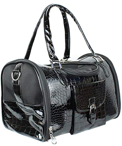 Parisian Pet Small Dog Carrier - Pet Carrier for Cats and Dog Carriers for Small Dogs - Dog Purse and Cat Carrier - Airline Approved Pet Carrier - Dog Travel Bag - Small Pet Carrier Handbag