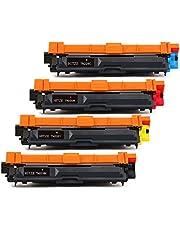 HITZE TN241 Reemplazo de cartucho de toner compatible para Brother TN-241 TN-241BK Alto rendimiento utilizado
