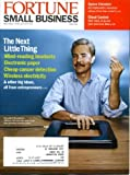 img - for Fortune Small Business December 2009 Eric Giler/WiTricity on Cover, Little Visit: Charleston, Mind-Reading Headsets, Electronic Paper, Wireless Electricity, Cheap Cancer Detection book / textbook / text book