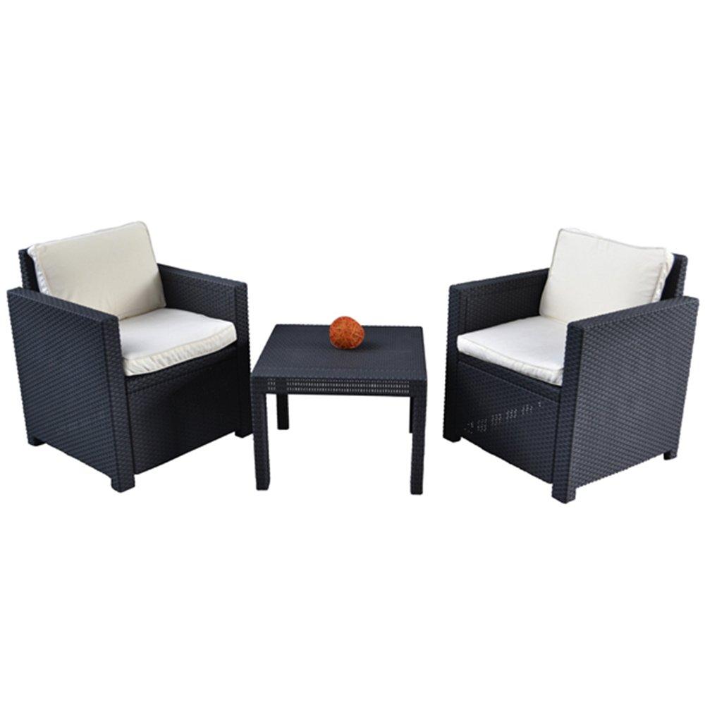 Lounge Auflagen-Set 4er Elfenbein