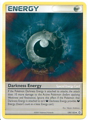 Darkness Energy Special Card - Uncommon - Secret Wonders - 129/132 NM/M ^G#fbhre-h4 - Energy Uncommon Card