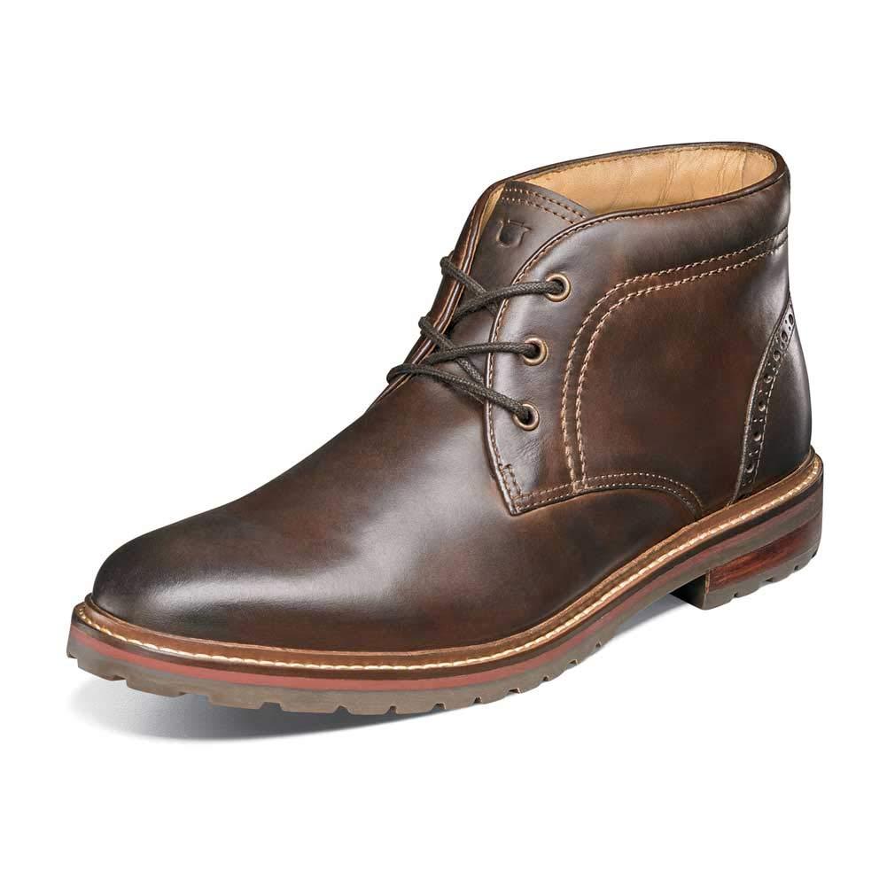Brown Crazy Horse Florsheim Men's Estabrook Chukka Boot