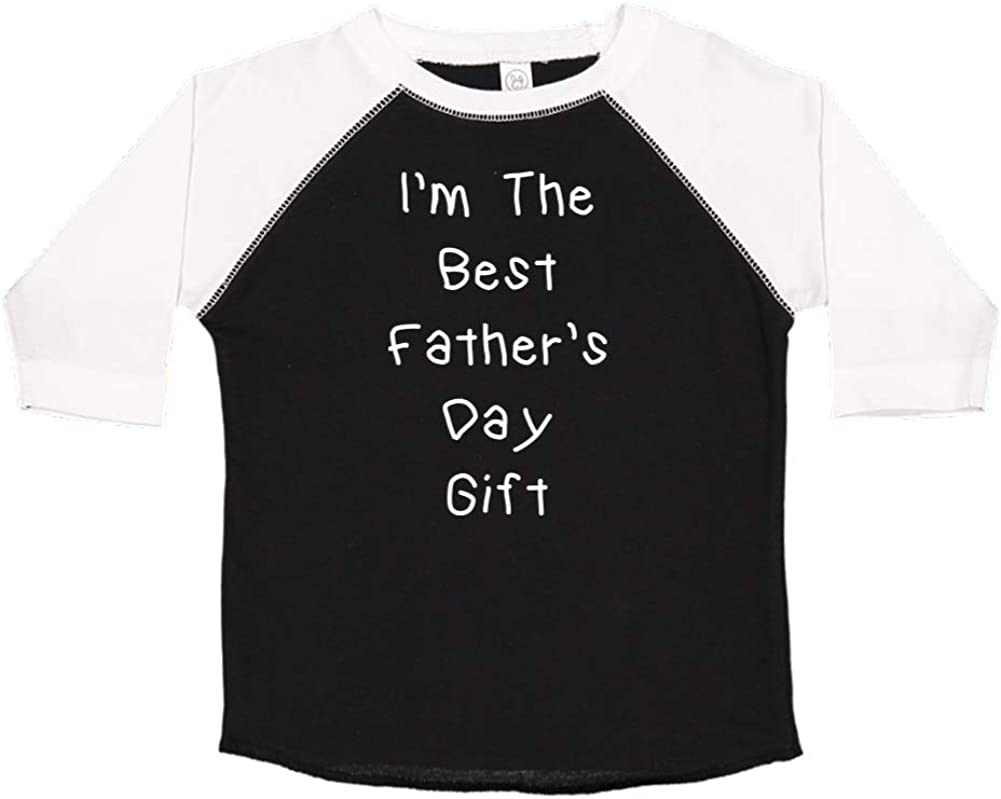 Mashed Clothing Im The Best Toddler//Kids Raglan T-Shirt