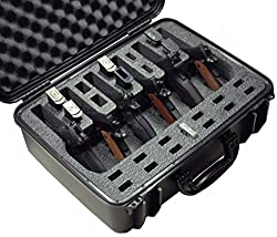 Case Club Waterproof 6 Pistol Case with Silica Gel Review