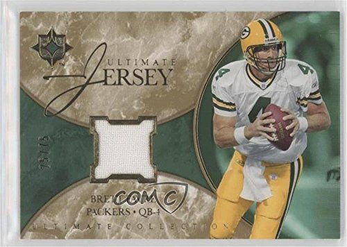 Brett Favre #25/75 (Football Card) 2006 Ultimate Collection - Ultimate Game Jersey - Gold #UL-BF