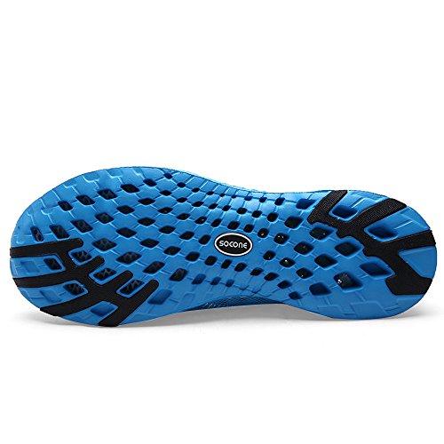 Feetmat Water Mesh Blue Shoes Womens Beach Quick Drying Shoes wttg5q
