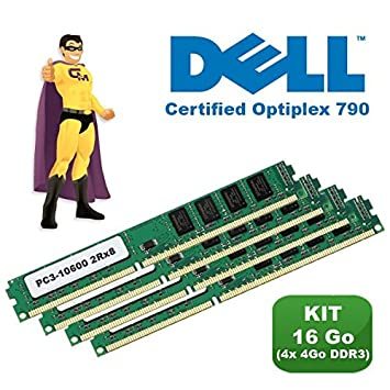 KIT de memoria RAM 16 GB 4 x (4GB), DDR3, PC 3-10600, certificada ...