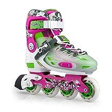 KUKOME-SHOP Adjustable Inline Skates Women's Roller Skates Size 6 - 8