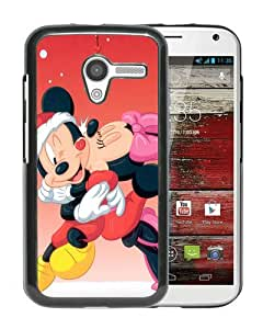 WANY Beautiful Classic Mickey Mouse Christmas 7 Black Moto X Case