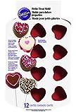 Wilton Petite Silicone 12 Cavity Heart Pan