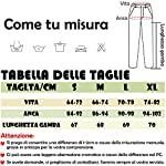 SEASUM-Pantaloni-Sportivi-da-Donna-Moda-Lunghi-Casual-Jogger-con-Tasche-e-Coulisse-Training-Pants-Jogging-Fitness-Allenamento