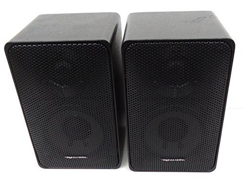 Bookshelf Speakers Realistic Minimus 7 Radio Shack Stereo Garage Small Loud Speakers